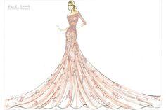 bocetos de diseños de moda de vestidos - Buscar con Google