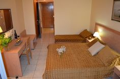 Contessa Hotel, Triple Room - Book Now your Zante Holidays in Contessa Hotel in Argasi by Visiting the Following Link: http://www.zantehotels4u.com/english/main/hotels/details/Contessa-Hotel/75