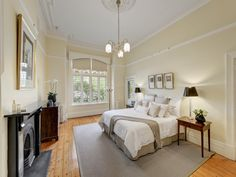 Master bedroom Federation style