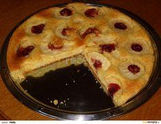 Upečený jablkový koláč
