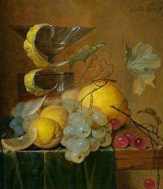 Jan Davidsz de Heem  Still Life with Wine Glass and Fruit  17th century