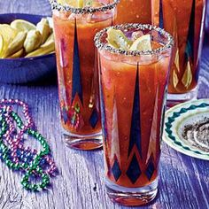 Cajun Bloody Marys