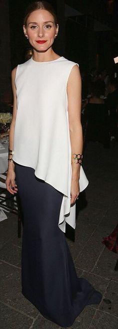 White Asymmetrical Sleeveless Silk Blouse