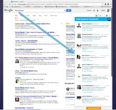 Loving the #Hootsuite column creation integration with Google Chrome's #Google search facility