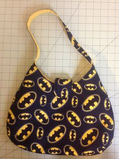 Batman Purse by GeekStuffShop on Etsy