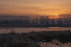 Sunrise in the fog by Eddy VANDERSPIKKEN on 500px