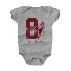 Alexander Ovechkin Grunge R Washington Officially Licensed NHLPA Onesie 3M-24M