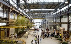 Urban Outfitters corporate campus by Meyer, Scherer & Rockcastle, Philadelphia » ... A small city