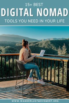 Working remotely and traveling? Here is a comprehensive guide to my 15+ best digital nomad tools that you need to stay productive, protect your privacy, and stay on budget whilst working from anywhere in the world. | Digital Nomad | Remote Work | Work and Travel | #digitalnomad #travel #makemoneyonline #digitalnomadtools #budget #remotework #workingremotely