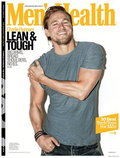 See Charlie Hunnams New Mens Health December 2014 Cover