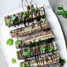 Chocolate Mint Slice - impress your guests with this dessert!