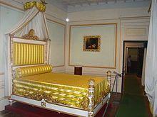 Camera da letto di Napoleone a Villa dei Mulini