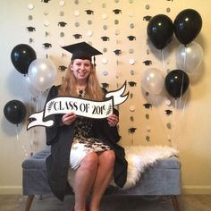 Graduation Backdrop Decoration, Custom Graduation Garland, Class of 2019 Decor, Graduation Photo booth Backdrop, 2019 Graduation Photo Prop Diy Graduation Gifts, Graduation Banner, Graduation Decorations, Graduation Party Invitations, Graduation Centerpiece, Graduation Ideas, Graduation Scrapbook, Prom Decor, Congratulations Graduate