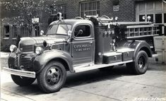 Cutchogue Fire Department (NY)   1946 Dodge High Pressure Fog Factory Photo   http://setcomcorp.com/fire.html