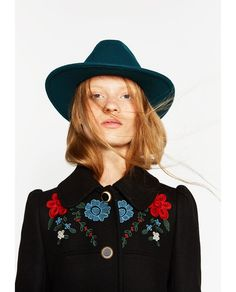 BRIMMED HAT WITH RIBBON DETAIL-View all-ACCESSORIES-WOMAN | ZARA United States