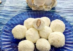 Diétás raffaello Diabetic Recipes, Diet Recipes, Healthy Recipes, Healthy Cookies, Healthy Desserts, Banana Brownies, Lactose Free, Winter Food, Herbalism