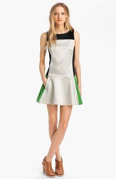 rag & bone 'Sofia' Contrast Panel Satin Dress | Nordstrom  http://shop.nordstrom.com/S/rag-bone-sofia-contrast-panel-satin-dress/3475563?origin=category=0==0