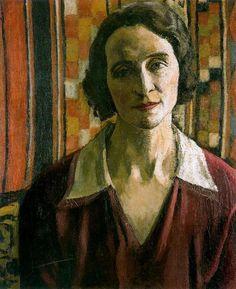 """""""Retrato de Marcelle Marquet"""", óleo de Albert Marquet (1875-1947, France)"""