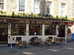 Milne's Pub in Edinburgh, Scotland