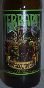 Hoping that the Greer Beer Hopgasm will be just slightly hoppier than this bad boy.  My goodness Hopsecutioner is amazing.