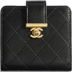 489bc37838a Chanel Small Square Golden Class CC 2.0 Wallet