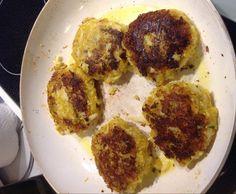 Rezept Kartoffel-Blumenkohl-Buletten von Meerblau - Rezept der Kategorie Hauptgerichte mit Gemüse