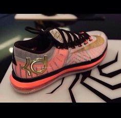 kd's shoes tumblur | shoes june 6 kds kevin durant orange see-through edit tags