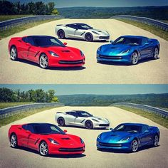 gmpartsonline:  Which #Corvette #Stingray would you choose?
