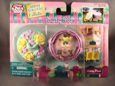 Have one to sell? Sell it yourself Details about  1996 Kenner Littlest Pet Shop Jewelry Box