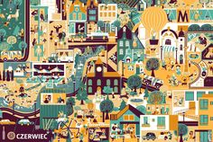 Rok w mieście   Księgarnia Bullerbyn