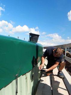 Behältersanierung und Reparatur vom Fermenter von NORTH-TEC