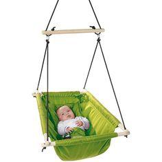 Hamaca colgante de lona verde - Columpios - Juguetes de exterior - Juguetes bonitos - Juguetes - Tienda online de juguetes educativos