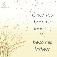 Make your life limitless #‎fearlessfriday‬ ‪#‎therapy‬ ‪#‎therapybylara‬ ‪#‎healthehurt‬ ‪#‎traumatherapy‬ ‪#‎fearless‬ ‪#‎friday‬