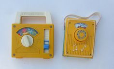 fisher price radios by tbklover on Etsy