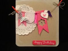 Used Hearts a Flutter from Stampin up