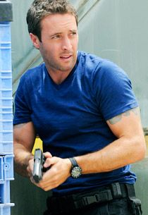 """Alex also appears in the action-packed May 14 season finale, which begins with the death of a familiar face and also sees the returns of Terry O'Quinn, Tom Sizemore and William Baldwin. And for the record, Peter assures me Alex is """"doing great."""" Good to hear. What's 5-0 without McGarrett?"""
