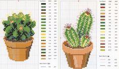 Cacti - Sandrinha Cross Stitch