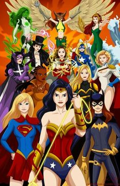 All Female Justice League par RobbyCookArt sur Etsy - wonder woman - Marvel Dc Comics, Hq Marvel, Bd Comics, Comics Girls, Vixen Dc Comics, Mera Dc Comics, Dc Comics Women, Batgirl, Supergirl