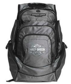 Harley-Davidson Backpack Silver B