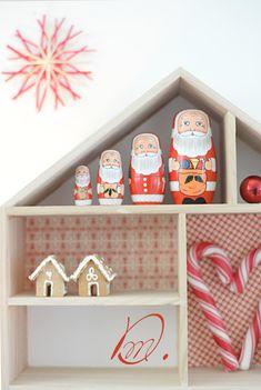 wunderschoen-gemacht: weihnachtsdeko in rot-weiss
