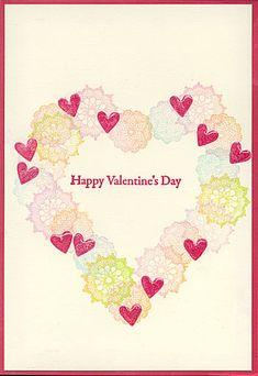 バレンタインカード1 Happy Valentines Day, Cards, Gifts, Heart, Presents, Maps, Favors, Playing Cards, Gift