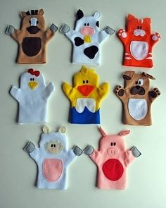 These 50 DIY puppet crafts for Kids that will make great inspirations for puppet making, and you are going to learn great puppet making tricks here that you have never thought before! Felt Puppets, Puppets For Kids, Hand Puppets, Finger Puppets, Kids Crafts, Toddler Crafts, Toddler Toys, Birthday Gifts For Kids, Gifts For Girls