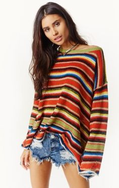 MEXI BLANKET SWEATER