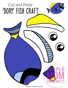 Looking for the best ocean animal crafts for your kids? These easy ocean animal crafts have 20+ fun cut and paste templates to keep toddlers, preschoolers or even big kids amused for hours. Including our popular dolphins, sea turtles, jellyfish, octopus and many more these are sure to be a big hit with your kids for fun craft activities or even homeschooling lessons. Click here to grab these awesome ocean animal craft templates today. #oceananimalcrafts #oceanfriends #underwateranimalcrafts Sea Creatures Crafts, Sea Animal Crafts, Animal Crafts For Kids, Printable Animals, Printable Crafts, Paper Fish, Water Animals, Fish Crafts, Ocean Themes