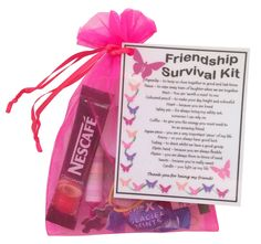 Friendship /BFF / Best Friend Survival kit gift - unique gift for your friend