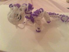 White and purple dragon