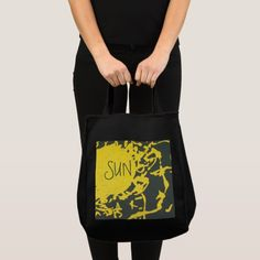 Shop Yellow splash Grocery Tote Bag created by Buy_ArtDuo. Grey Tote Bags, Custom Clothes, Reusable Tote Bags, Yellow