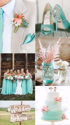 Imagen Colores para una boda del artículo Los colores más bonitos para decorar una boda en 2017