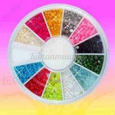 Helmi kynsikoristeet, 12 väriä