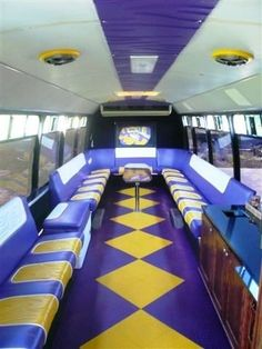 LSU Tailgating Party Bus. Swagger...